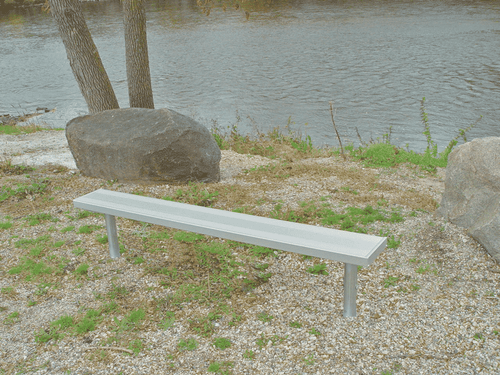 6' Aluminum Players Bench