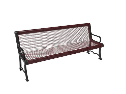 Expanded Metal Park Bench