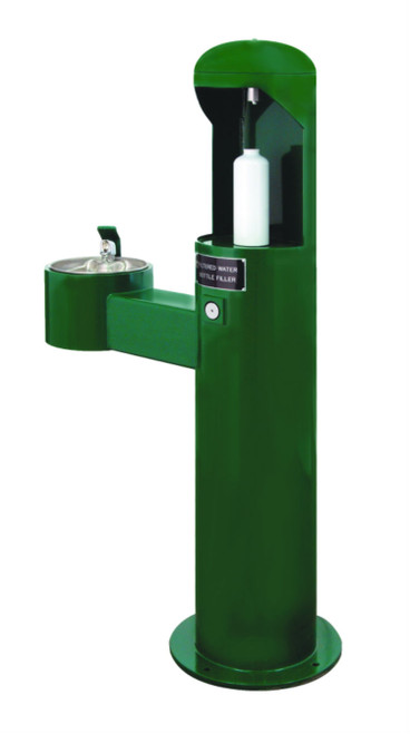 Bottle filler with ADA Drinking Fountain