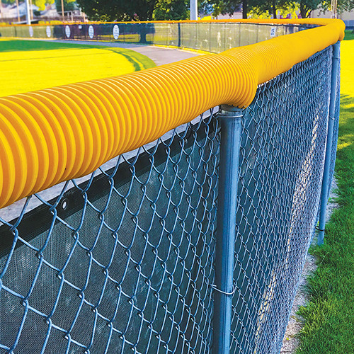 Poly-Cap Fence Top - Yellow