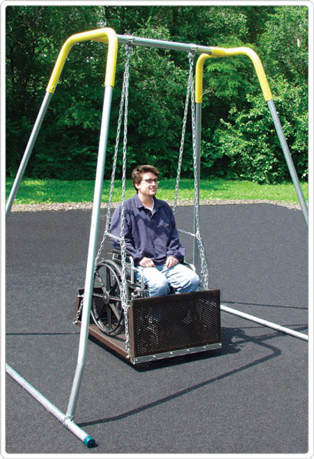 Portable ADA Platform Swing