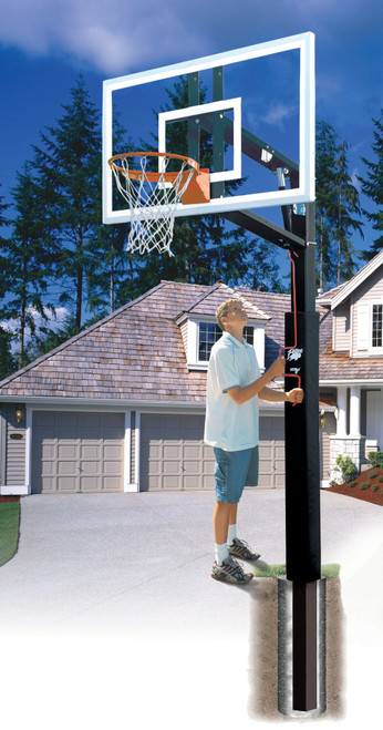 Residential Basketball Adjustable System