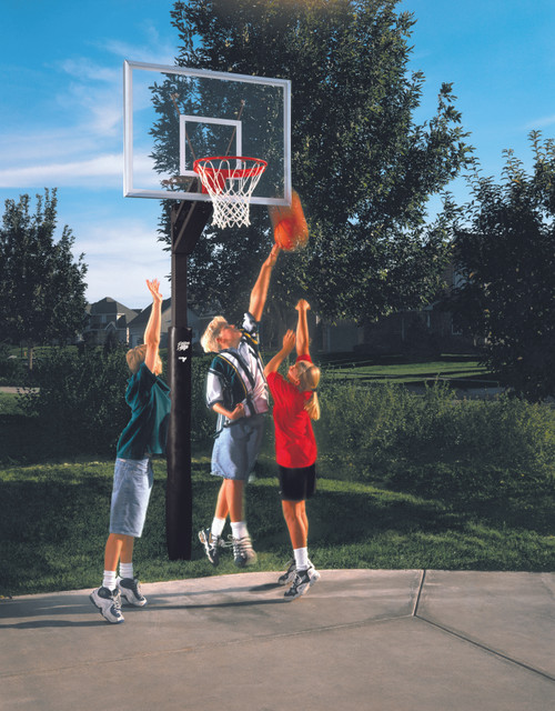 Qwik Adjust Residential Basketball System