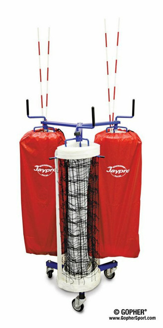 Triple Net Keeper with Storage Bags