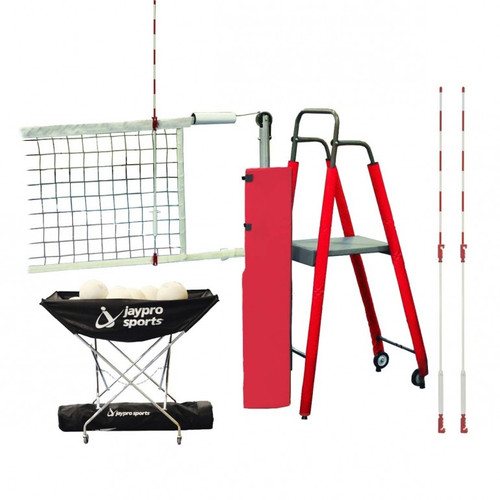 Featherlite Volleyball System Package
