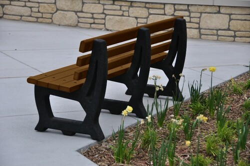 4' Brooklyn Park Bench