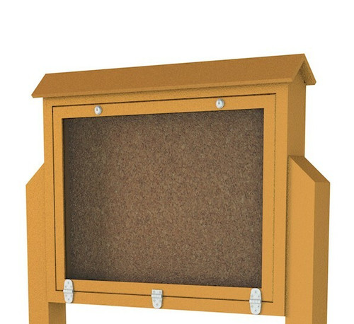 Medium Message center with 3 hinged door