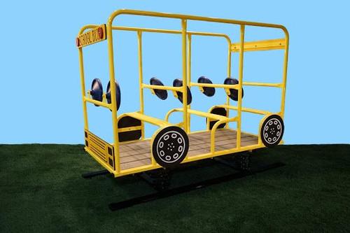 6 Seat School Bus Spring Rider
