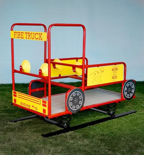 Spring Fire Truck