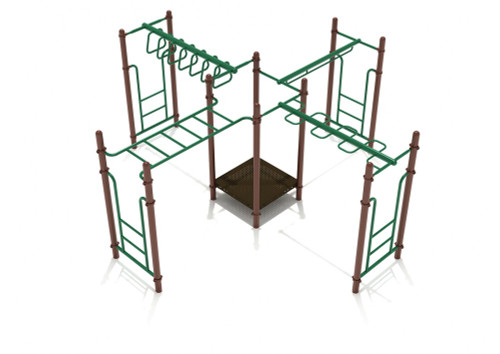 Waverly Woods Playset Green - Tan