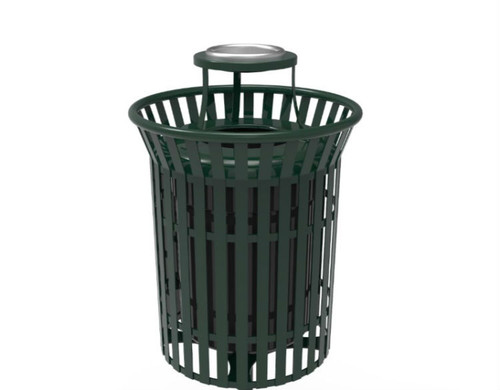 32 Gallon Skyline Trash can with ashtray top