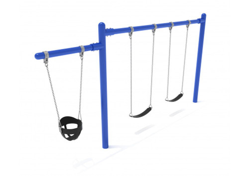 Cantilever Swing - 1 Bay 1 Cantilever - Blue