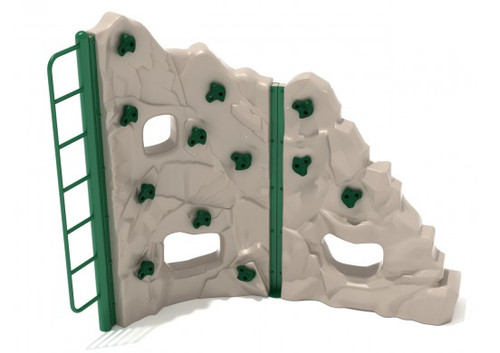 Craggy Island Playground Climber - Tan - Green