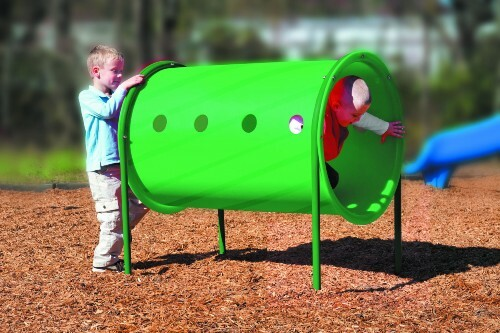 Freestanding Playground Crawl Tunnel