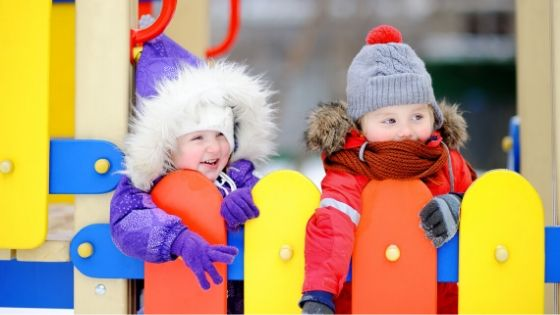 Ways to Keep Children Safe on Playgrounds During the Winter