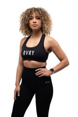 Rivalry Clothing RVRY Sports Bra Black