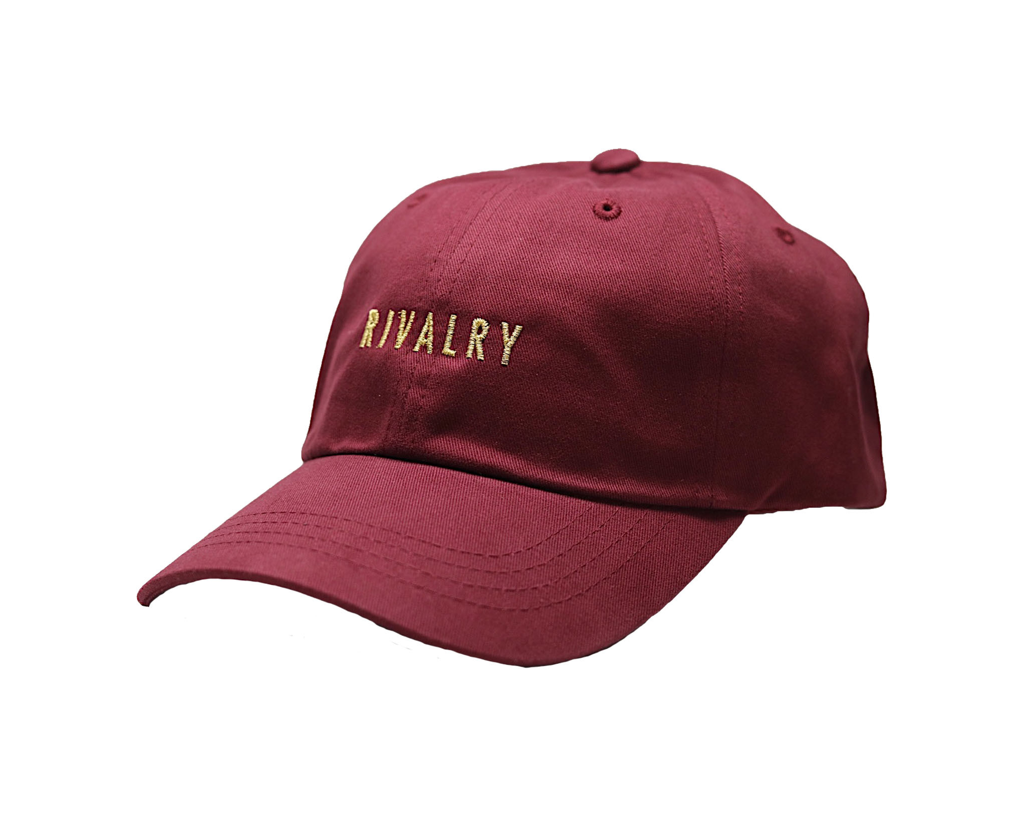 Rivalry Dad Hat - Ox Blood