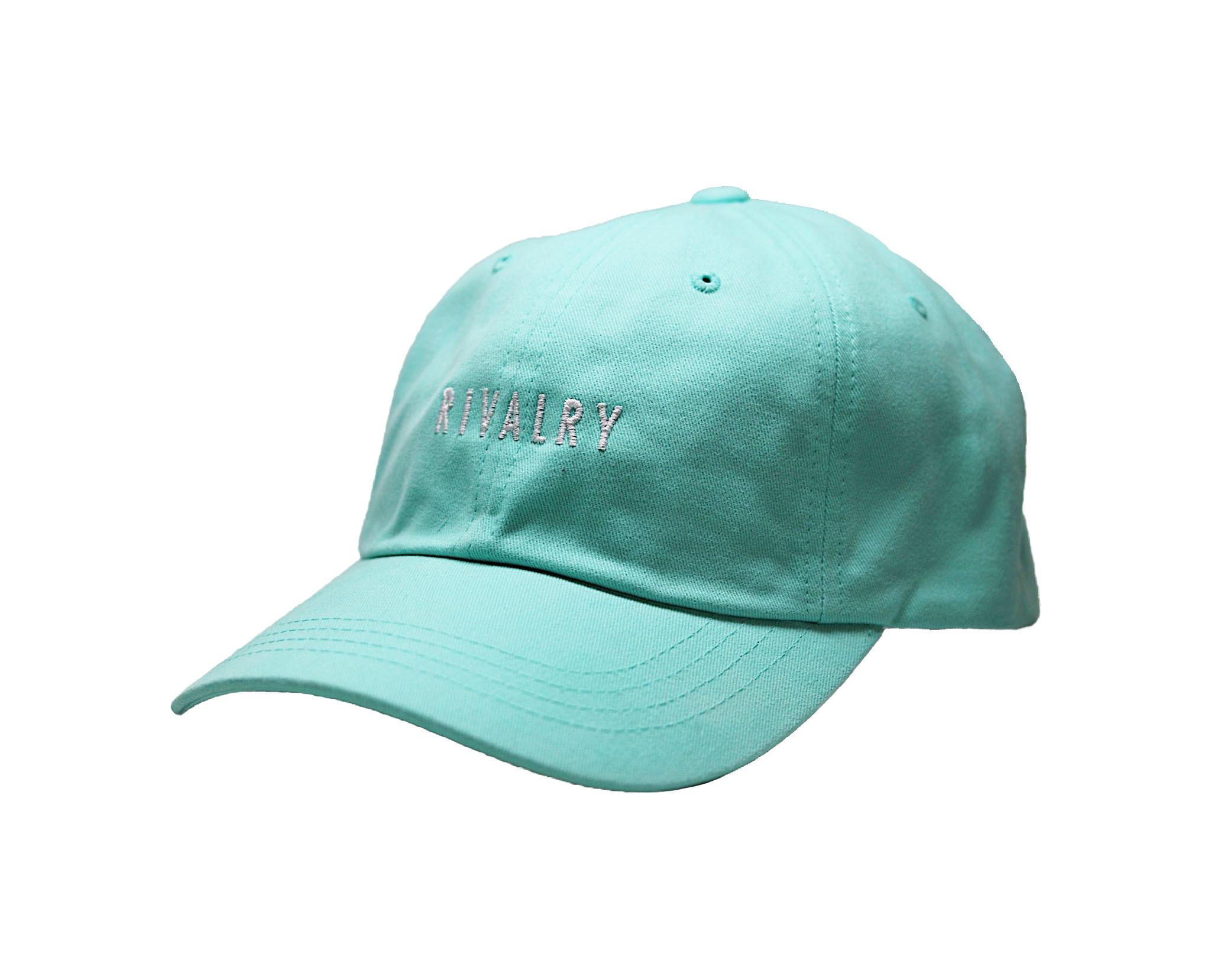 Rivalry Dad Hat - Tiffany Blue