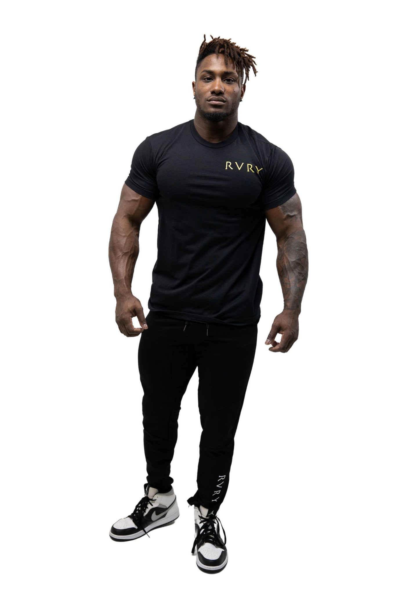 Rivalry Clothing Mens Against All Odds Tee Black
