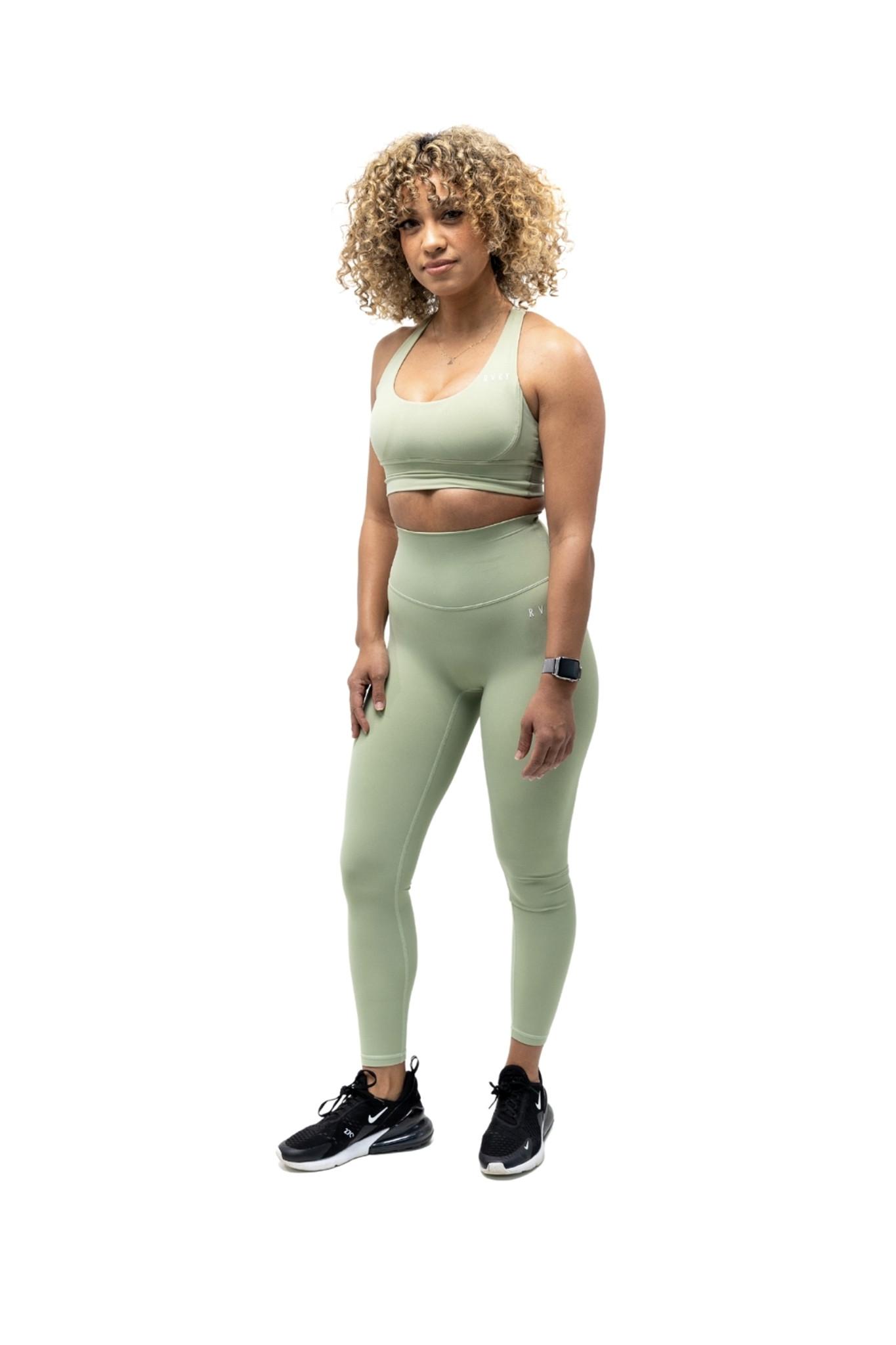 Allure Leggings - Sage Green