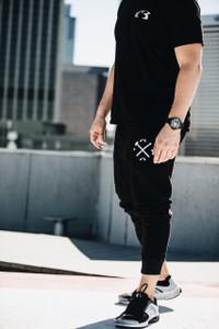 Innovational Jogger Sweat Pants - Black
