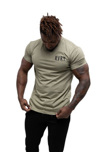 Rivalry Clothing Mens Tee Aviation Olive Green
