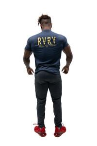 Rivalry Clothing Mens Tee Aviation Navy