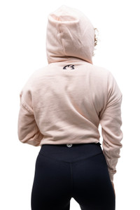 Elegance Cropped Sweater - Blush
