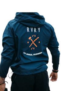 Rivalry Clothing Relentless Windbreaker Navy