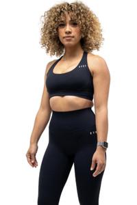 Rivalry Clothing Allure Sports Bra Onyx