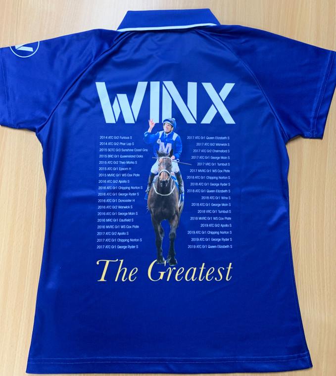 WINX - 'The Greatest' Commemorative Polo Shirt - Ladies