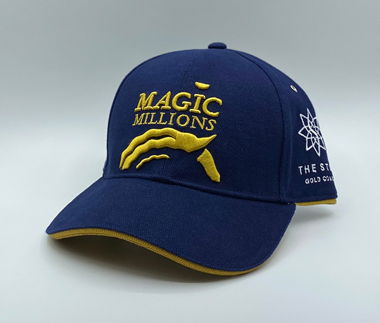 *2020 NAVY AND MUSTARD CAP