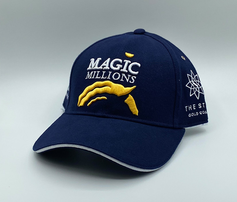 *2020 NAVY BLUE & WHITE & GOLD CAP
