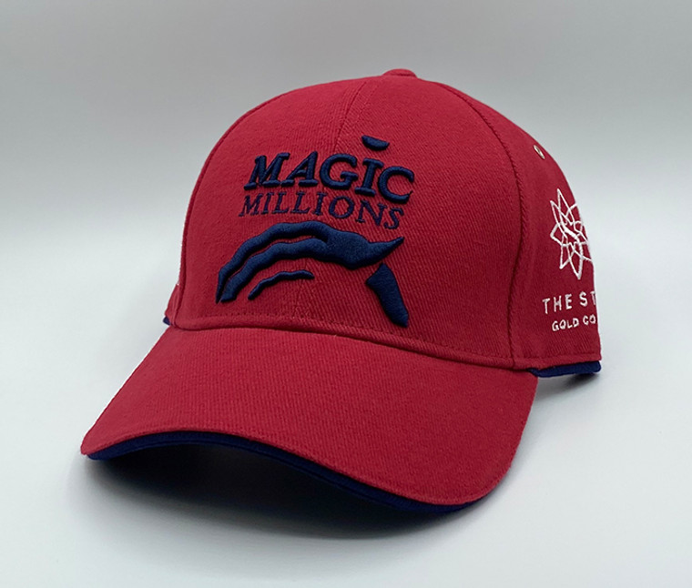 *2020 RED AND NAVY CAP