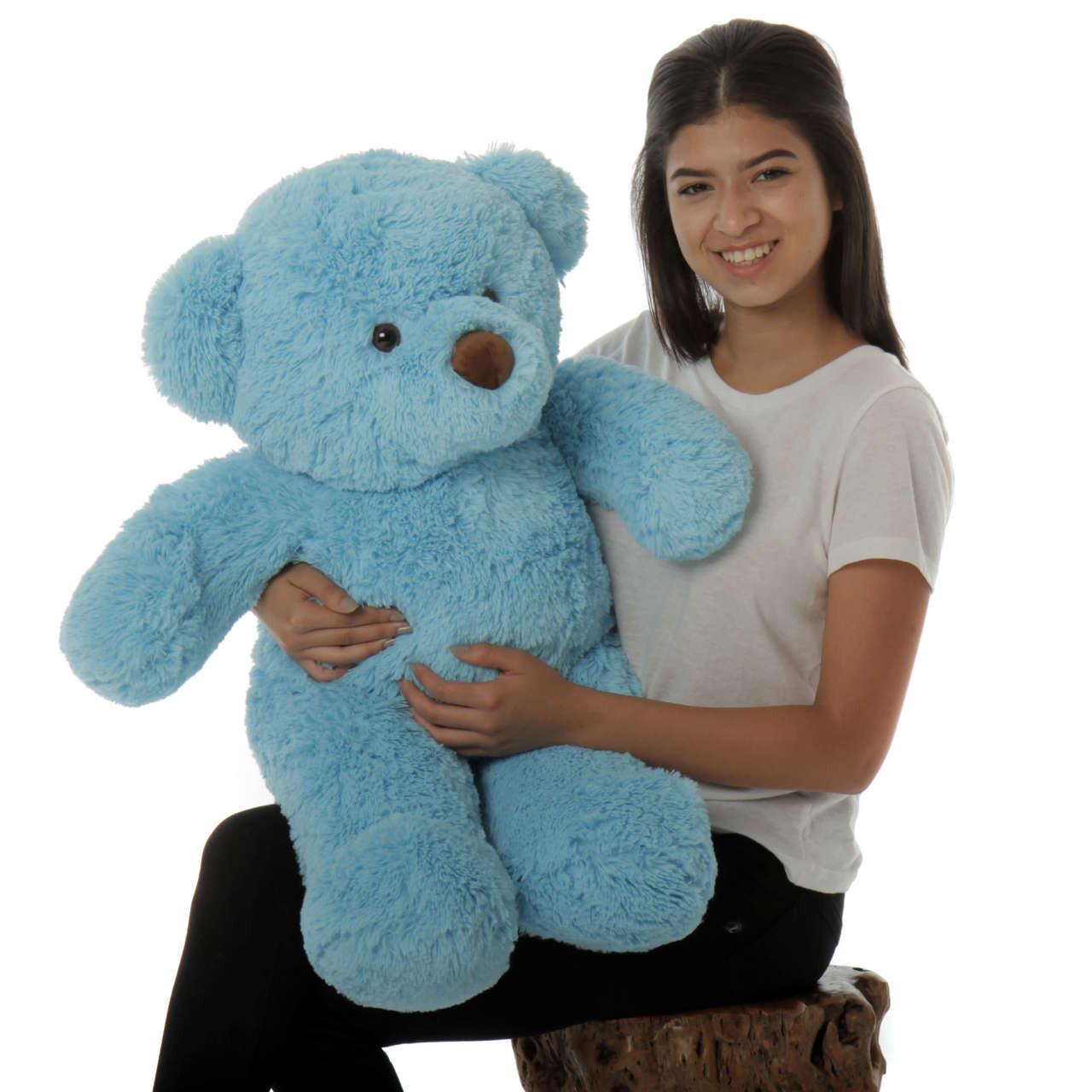 30in Blue Sammy Chubs Special cute adorable bear