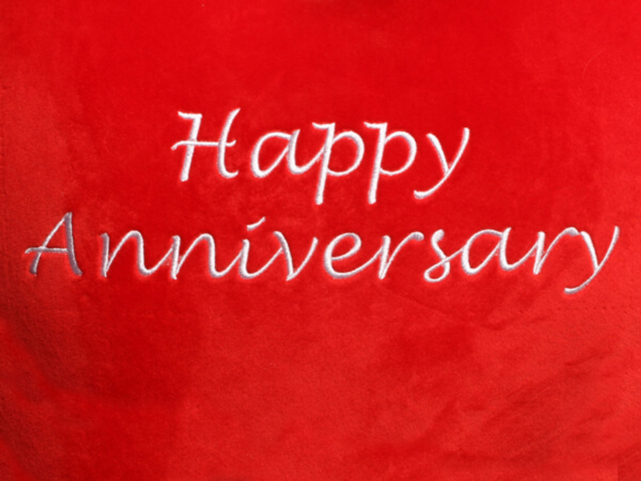 Happy Anniversary Heart Design (Close Up)