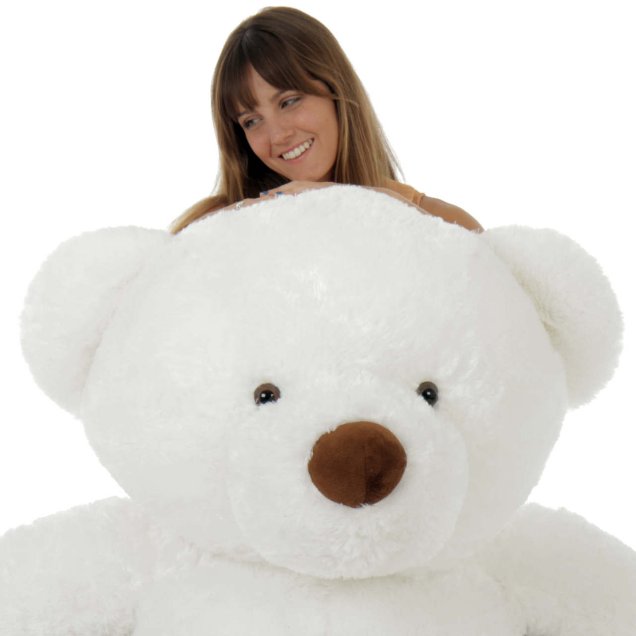 Super Soft and Adorable Giant 5 Foot White Teddy Bear