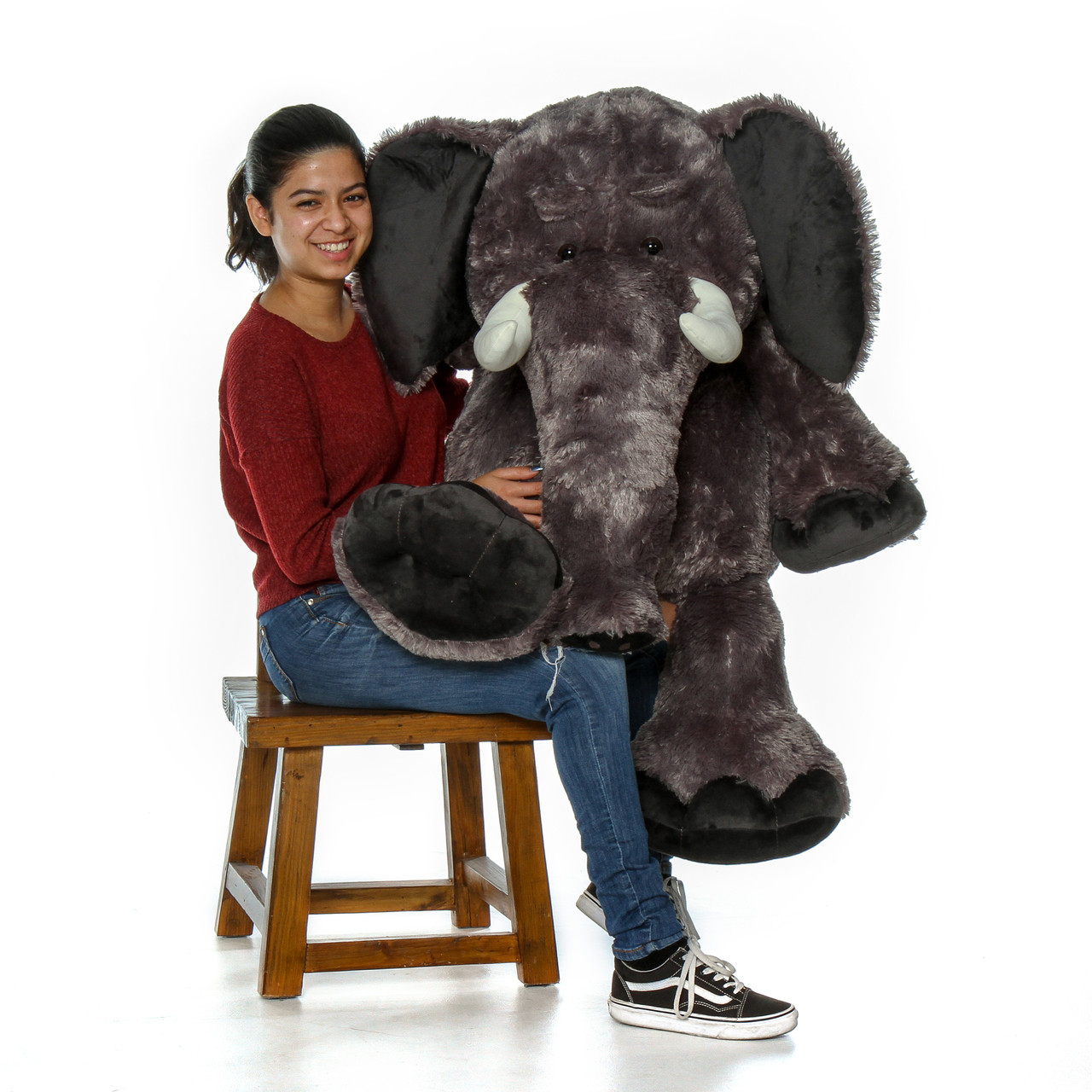4ft Enormous Stuffed Stampy Elephant