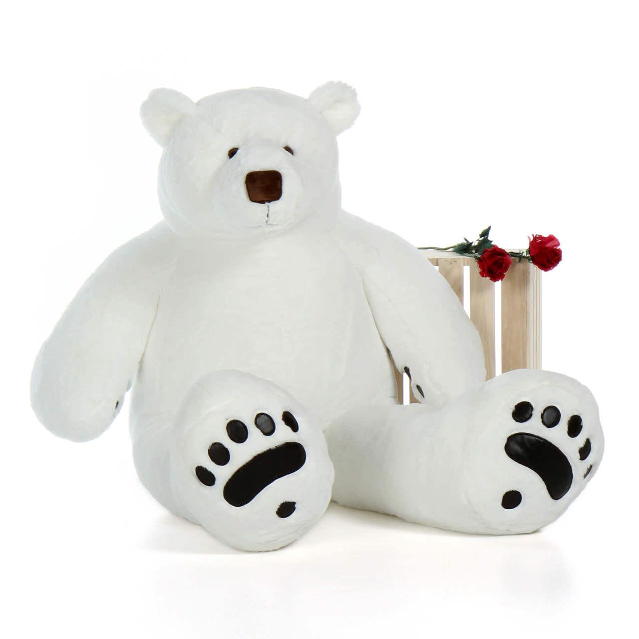 5 Foot Polar Bear Stuffed Animal Large