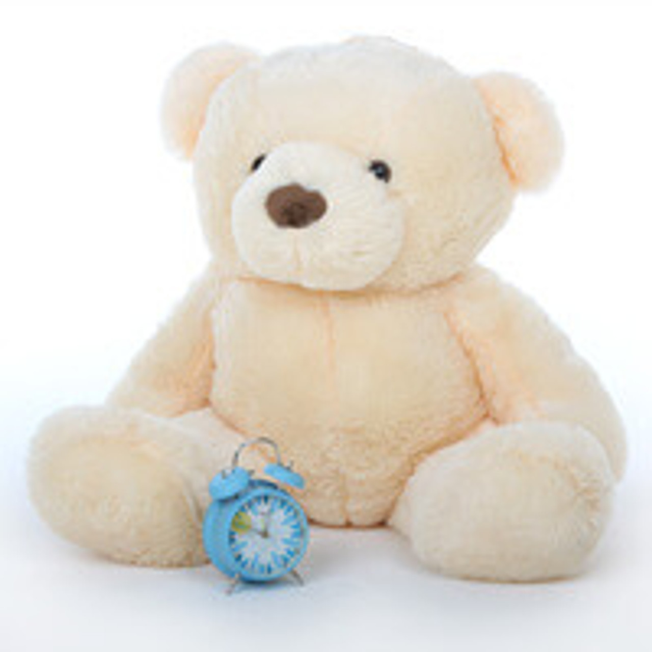 Smiley Chubs vanilla cream teddy bear 38in