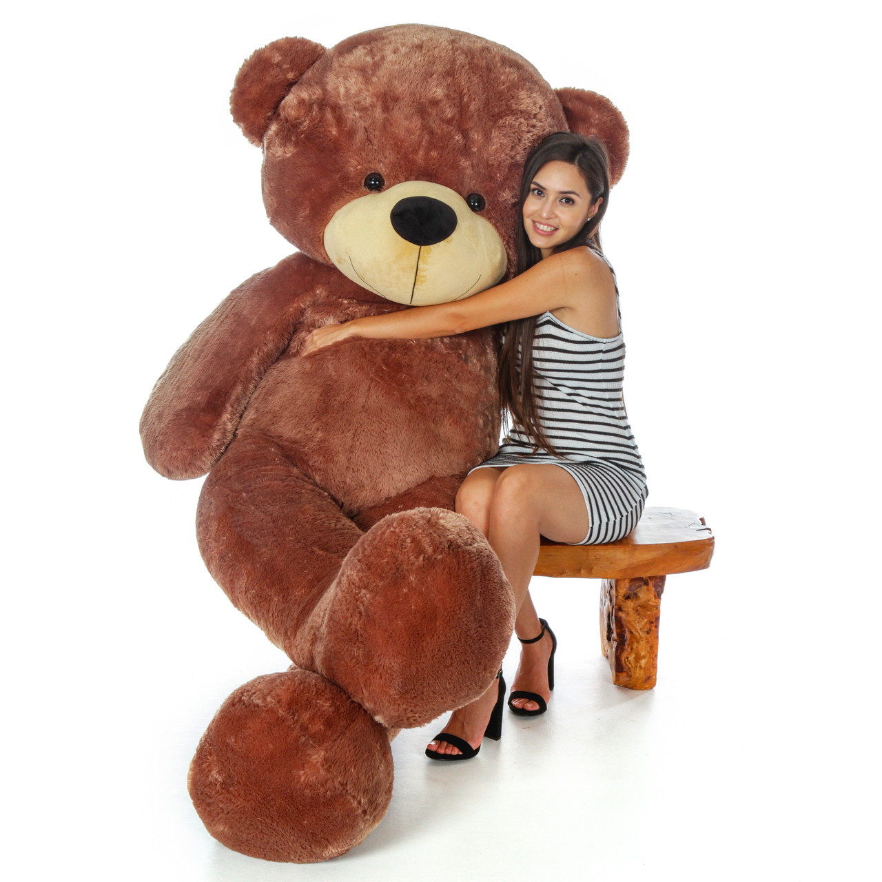 de7d1d5e07c 7 Foot Life Size Giant Teddy Bear Cuddles - The BIGGEST Teddy Bear!