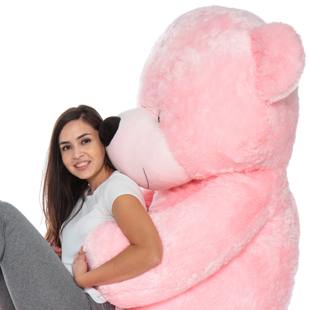 Super Soft 7 Foot Giant Teddy Brand Biggest Teddy Bear in Pink