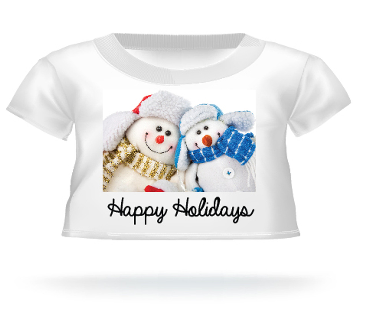 Happy Holidays Teddy Bear T-shirt