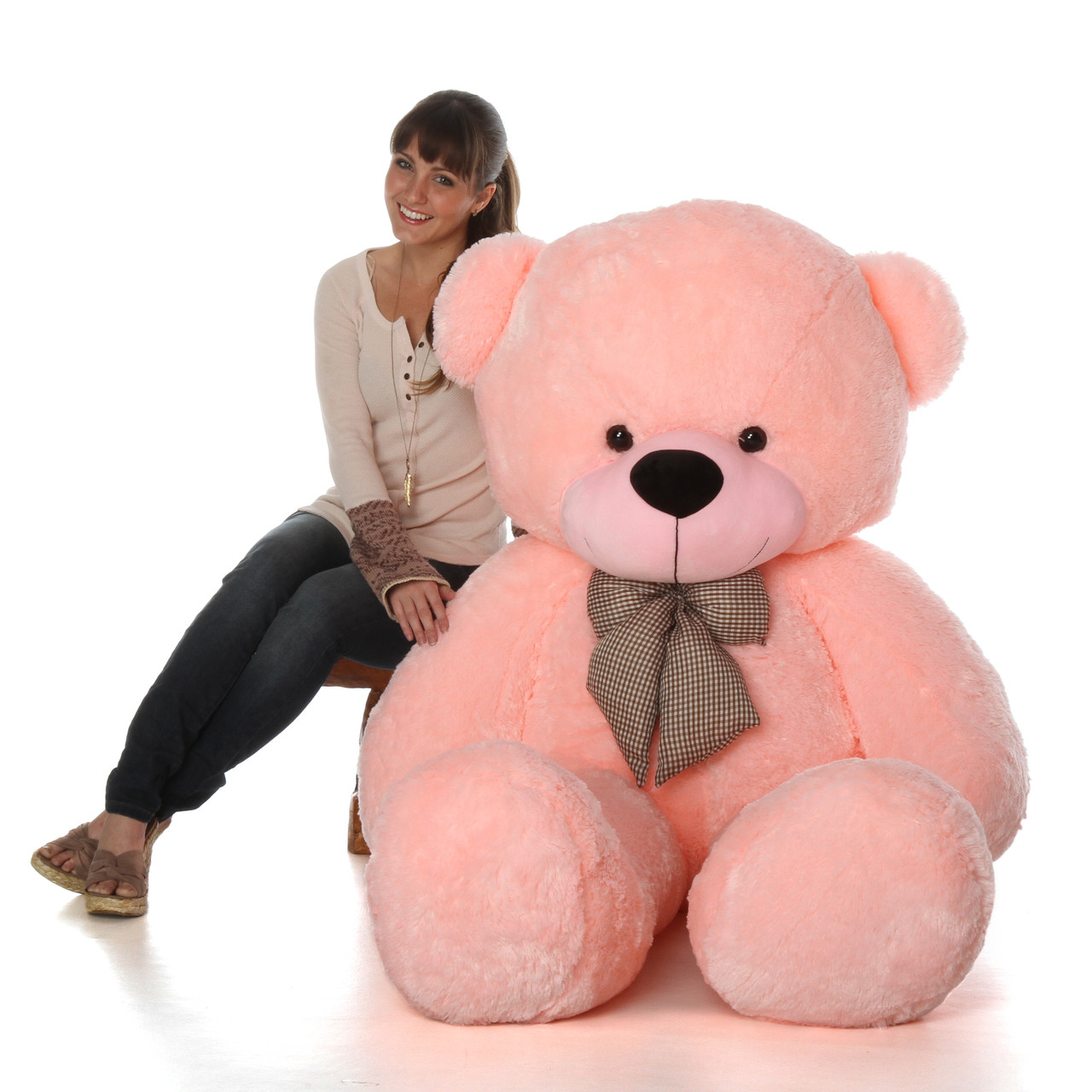 ae5f49ac622 6ft Giant Life Size Pink Teddy Bear Lady Cuddles