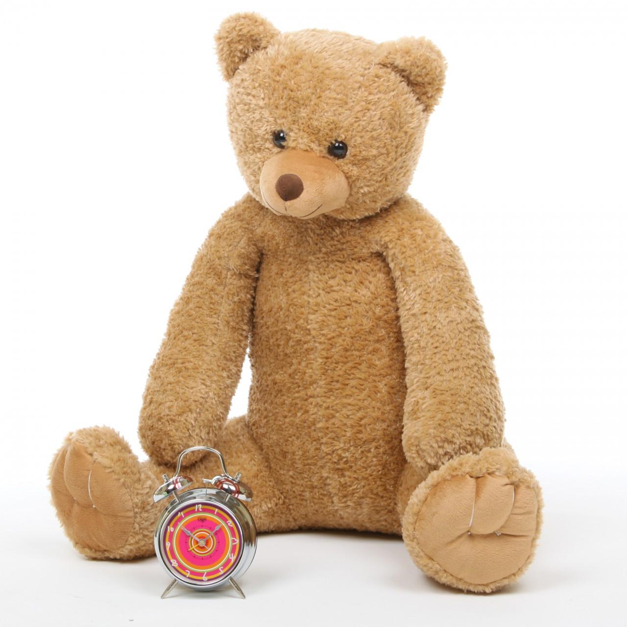 36in Huge Amber Teddy Bear Honey Tubs