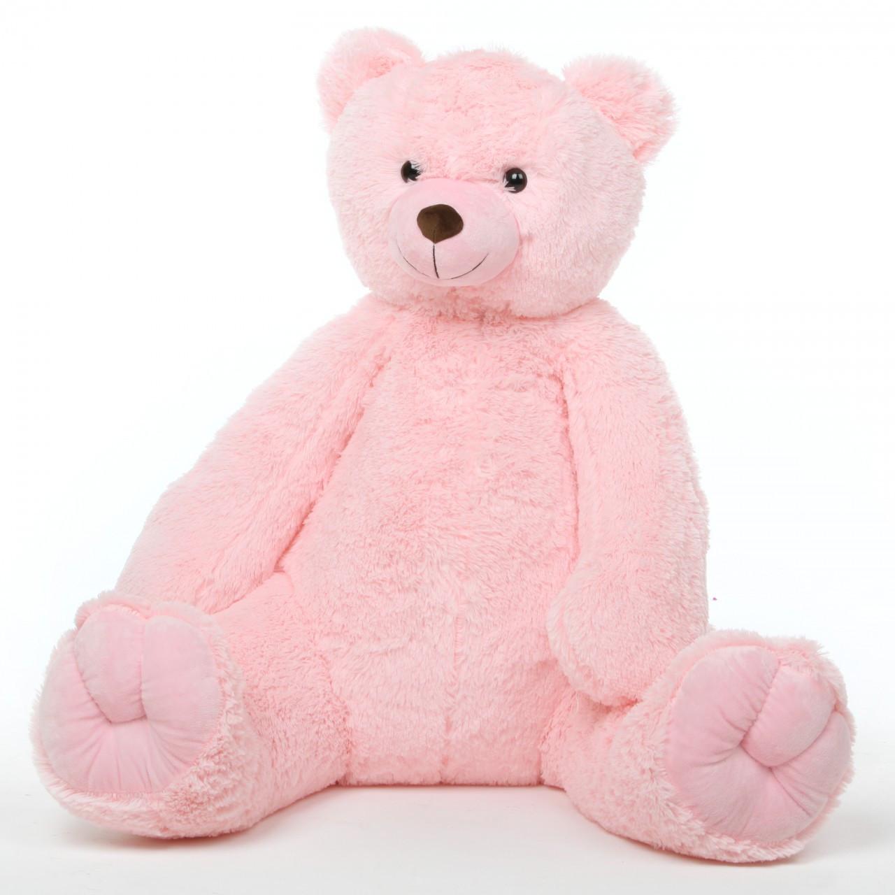 Huge 42in Pink Teddy Bear Darling Tubs