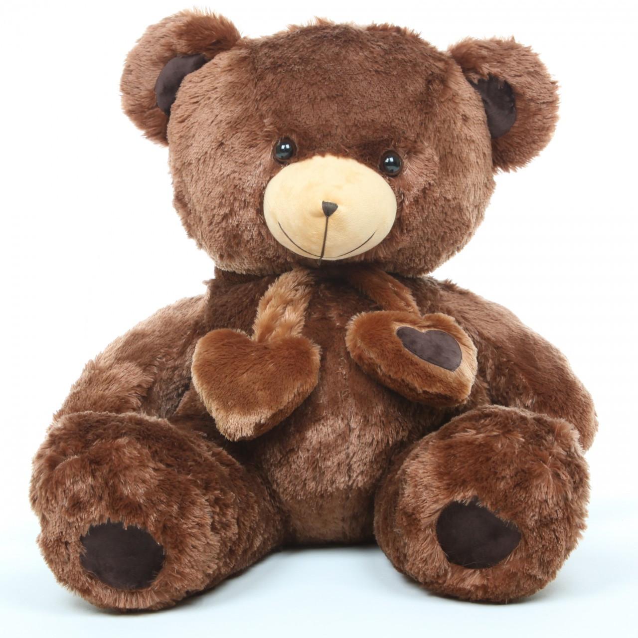 3ft Chestnut Huge Teddy Bear Lucky Hugs