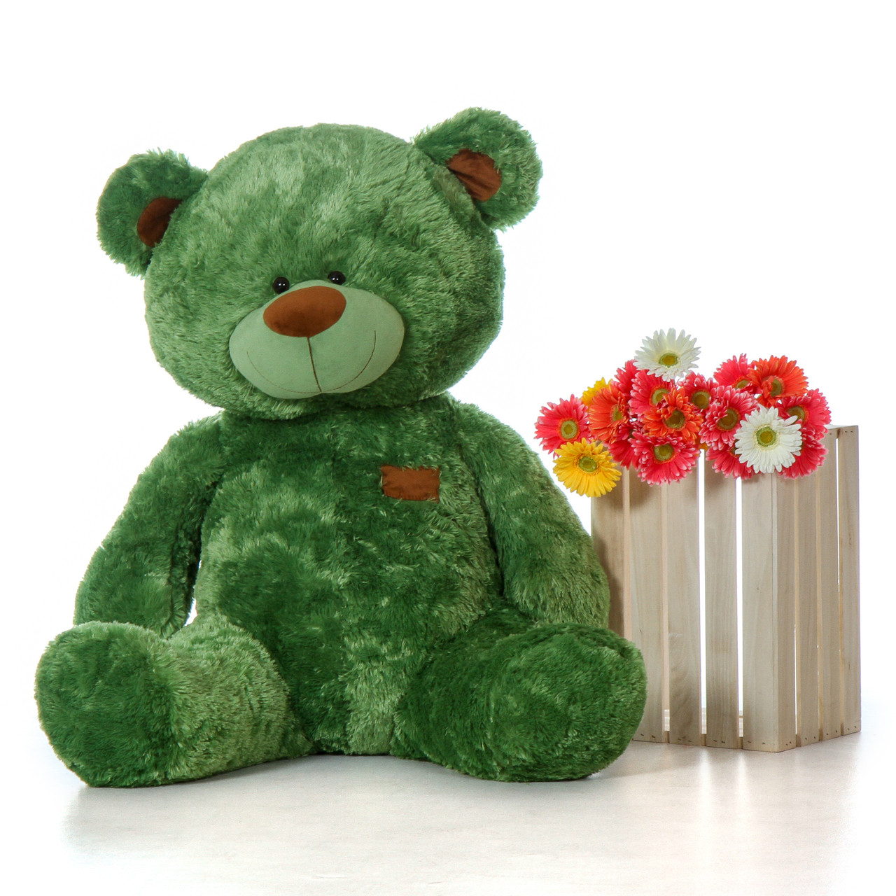 Image result for saint patricks day flowers and bear