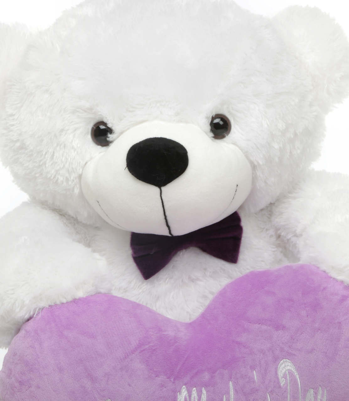 3ft White Teddy Bear Happy Mother Day Package