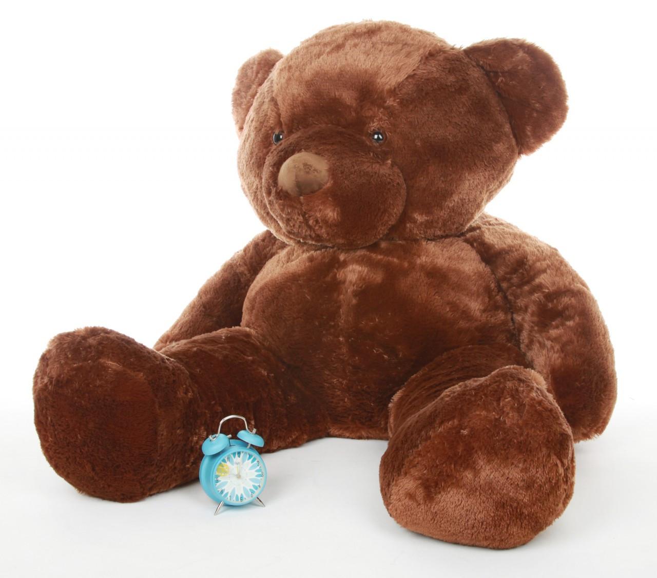 Giant Chestnut Brown Teddy Bear